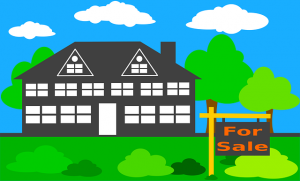 House for sale animation